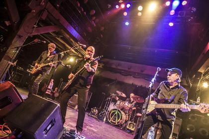 Unermüdlich - Wishbone Ash: Bilder der Rock-Veteranen live in der Fabrik in Hamburg