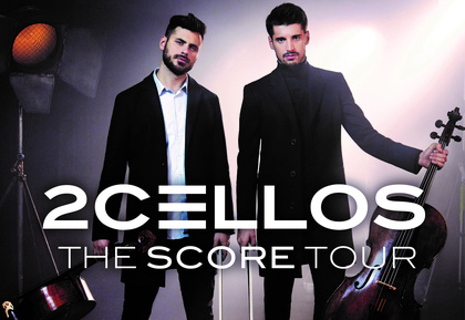 Symbiose aus Klassik und Rock - 2Cellos spielen im November und Dezember 2017 Konzerte in Wien, Köln und Berlin