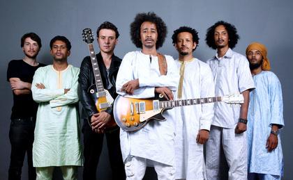 Musik von Welt - Die Tuareg-Musiker Tamikrest gehen im Frühjahr 2017 auf Deutschlandtour