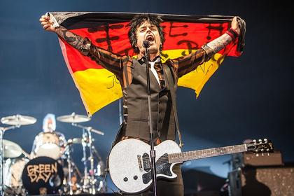 Frenetisch - Green Day: Fotos der Punkrocker aus der SAP Arena in Mannheim