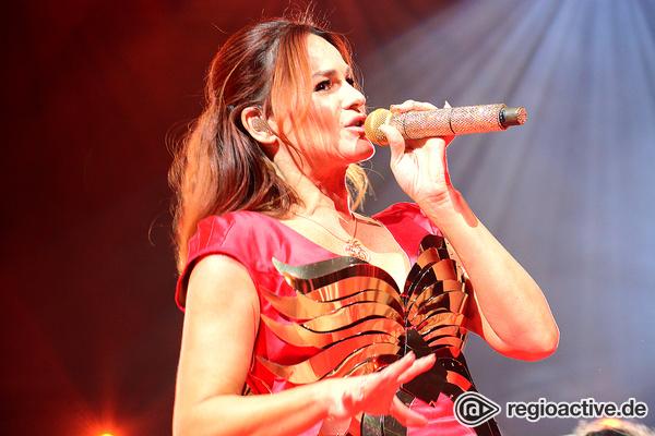 Fast wie im Film - Bombastisch: Schlagerstar Andrea Berg live in der SAP Arena in Mannheim