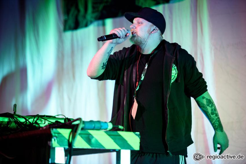 Pedaz live in Mannheim 2017
