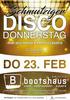 Schmutziger Disco Donnerstag