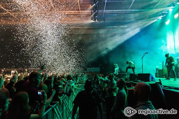Wirklich Hardcore - Kolossal: Fotos von A Day To Remember live in der Sporthalle Hamburg