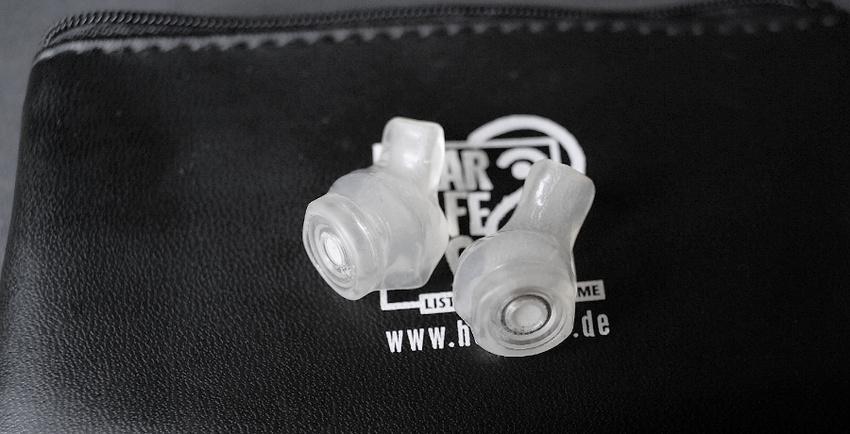 Angepasster Gehörschutz der Firma Hearsafe
