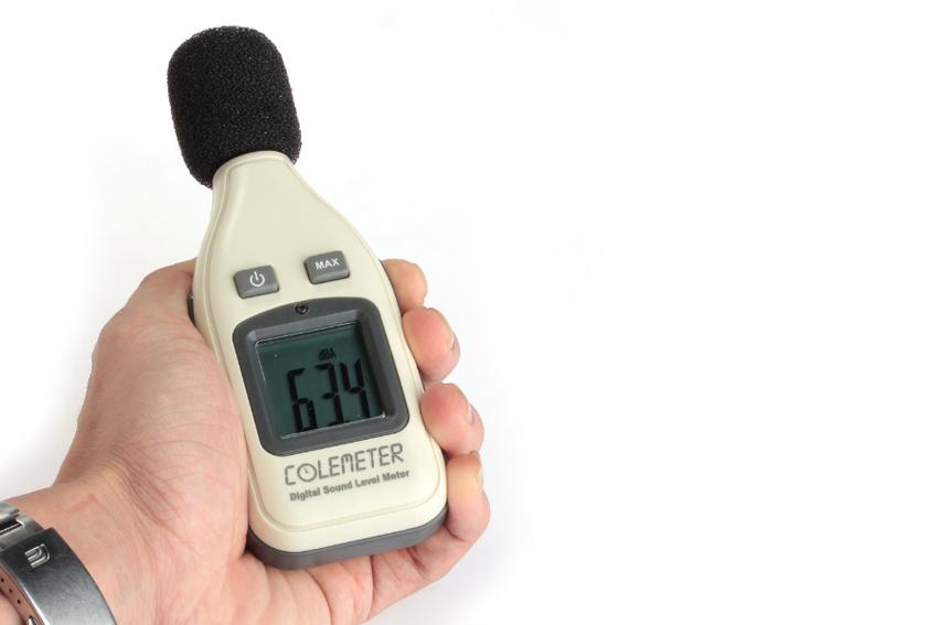 Schallpegelmesser der Marke COLEMETER