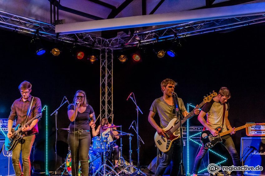 Fotos: Mind Blowing live bei NewcomerTV in Oberursel 2017