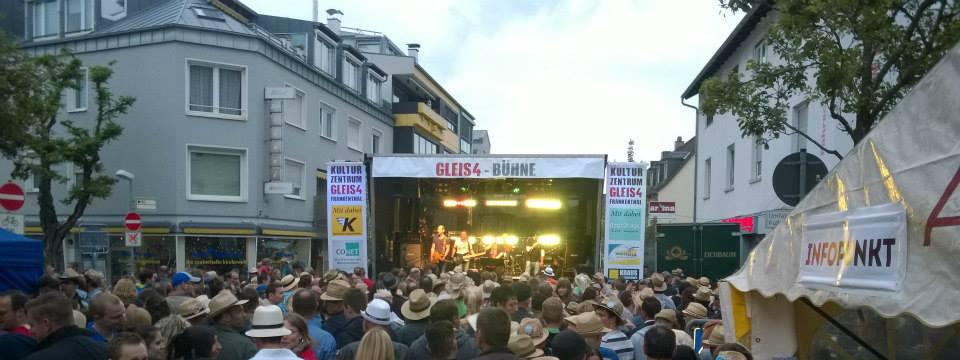 Spielt auf der Gleis4-Bühne beim Strohhutfest 2017 in Frankenthal