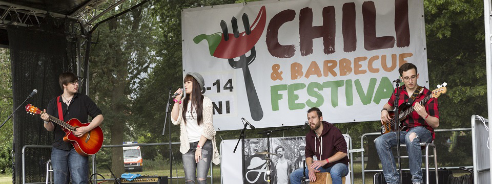 Spielt beim Chili & Barbecue Festival 2018 in Hannover