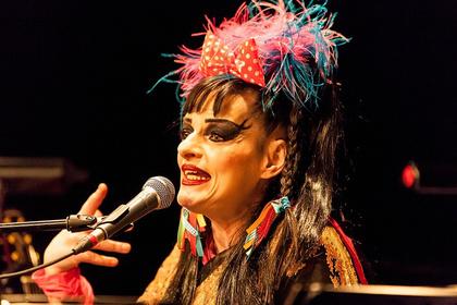 Popkultur, Krieg und Gott - Episches Theater: Nina Hagen live in der Alten Feuerwache in Mannheim