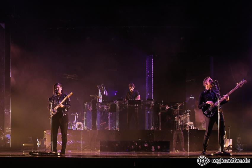 Zwischen Genialität und Monotonie - The xx spielen in Frankfurt ein Konzert mit Höhen und Tiefen