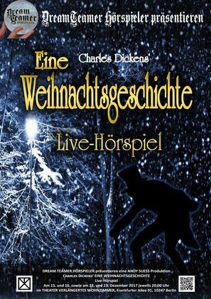charles dickens eine weihnachtsgeschichte in berlin, theater, Wohnzimmer