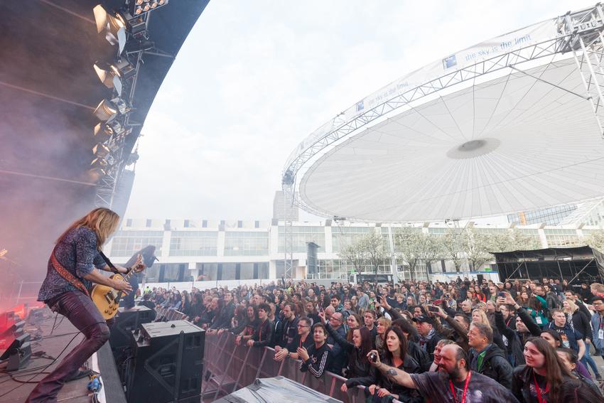 The Dead Daisies (live auf der Musikmesse Frankfurt, 2017)