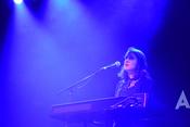 Live-Fotos von Alice Merton als Support von Bosse in der halle02 in Heidelberg