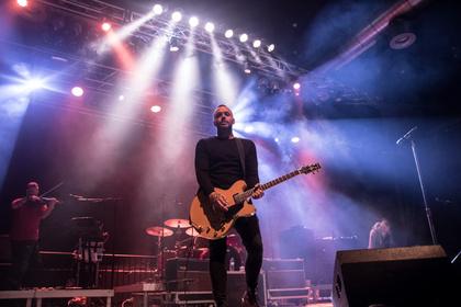 Empfindsame Rockshow - Blue October bieten im Frankfurter Gibson eine mitreißende Show