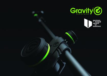 Freude bei der Adam Hall Group: Gravity ist für den German Brand Award 2017 nominiert
