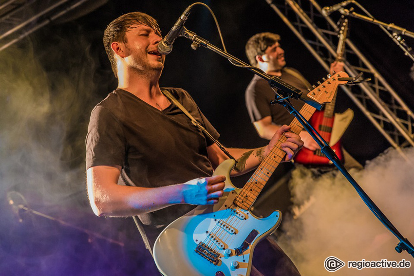 Fotos: SHAWN. live bei NewcomerTV in Oberursel 2017