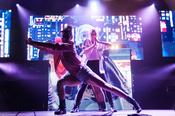 Artistisch: Fotos von Lindsey Stirling live in der Sporthalle Hamburg