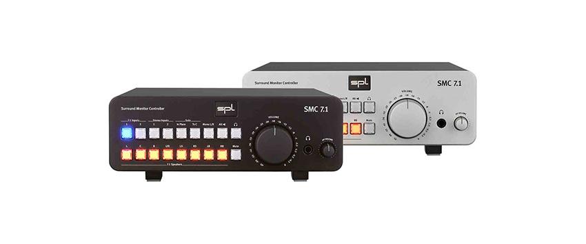 SPL stellt den Surround Monitor Controller SMC 7.1 vor