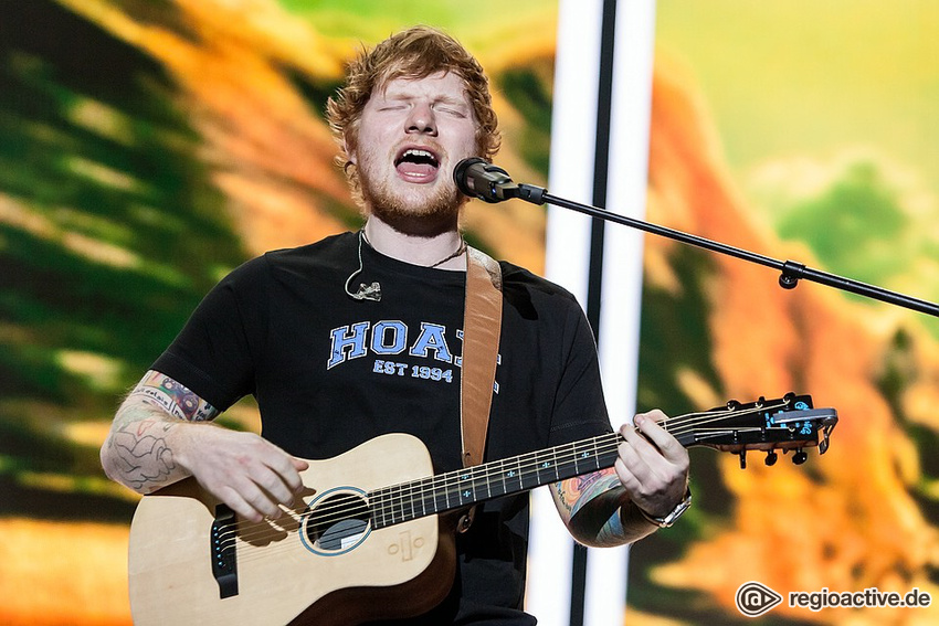 Ed Sheeran (live in Mannheim 2017)