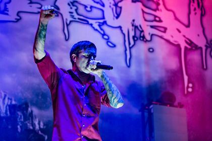 Auf Anschlag - Fotos von Heaven Shall Burn als Opener von Korn live in Stuttgart