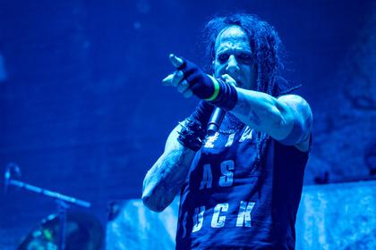 Hellelujah - Fotos von Hellyeah als Vorband von Korn live in Stuttgart