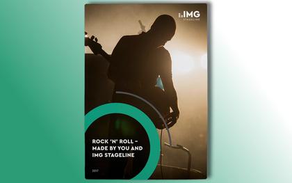 Der neue IMG STAGELINE Equipment-Katalog für 2017 ist da
