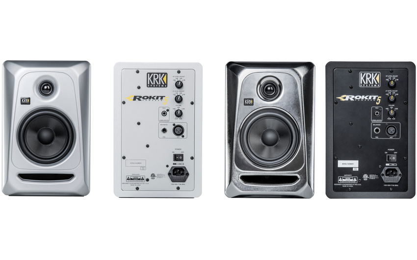 KRK ROKIT 5 G3 Limited Editions Electric Silver und Silver Black