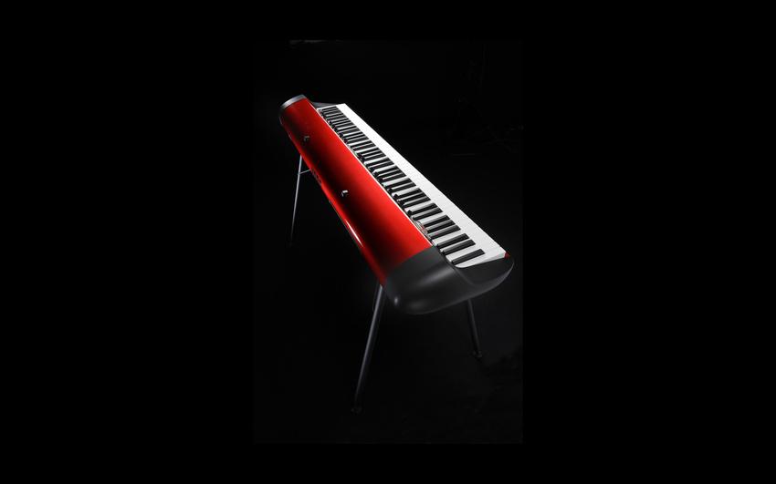 """Das beliebte SV-1 Stage Vintage Piano gibt es jetzt in limitierter """"Metalic Red""""-Ausführung"""