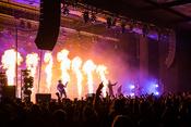 Feurig: Fotos von Parkway Drive live in der Jahrhunderthalle Frankfurt