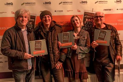 Die Musiker*innen haben entschieden - Gelungene Premiere: BACKSTAGE Clubaward 2017 prämiert die besten Live-Locations in Deutschland