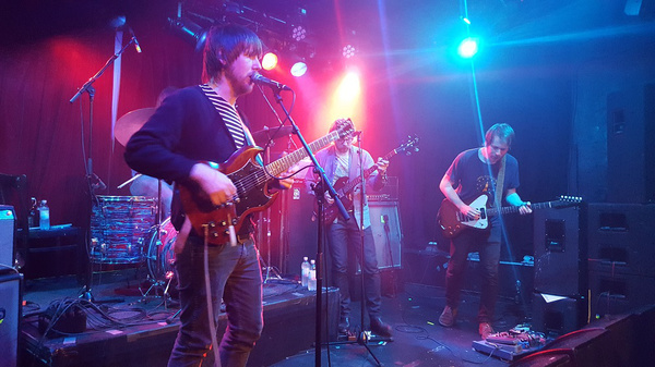 Psychedelisches Paradies - Wolf People bieten im Café Central in Weinheim ein perfektes Konzerterlebnis