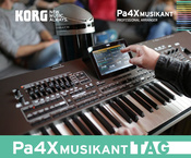 KORG Pa4X MUSIKANT Tag Hartenstein 2017