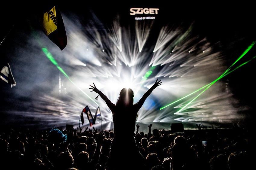 Impressionen vom Sziget Festival (2016)
