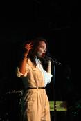 Mit Soul: Fotos von Joy Denalane live im Heidelberger Karlstorbahnhof