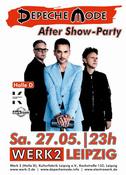 Depeche Mode After-Show Party Werk 2 LE