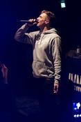 Live-Bilder von Marvin Game in der halle02 in Heidelberg