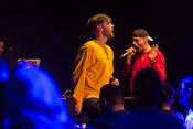 Live-Fotos von Holy Modee & Morten als Support von Marvin Game in Heidellberg