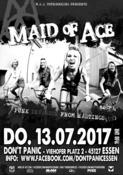 Vorband gesucht! Maid Of Ace (Rrrriot Girrrrl Punkrock from Hastings/UK)