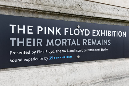 Sennheiser bei The Pink Floyd Exhibition: Their Mortal Remains