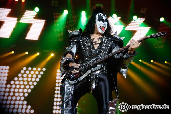 Feurig - Mit Zunge: Fotos von KISS live in der Frankfurter Festhalle