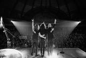 Live-Fotos von Raven Eye als Support von KISS in Frankfurt