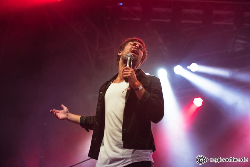 Max Giesinger (live beim Schlossgrabenfest 2017)