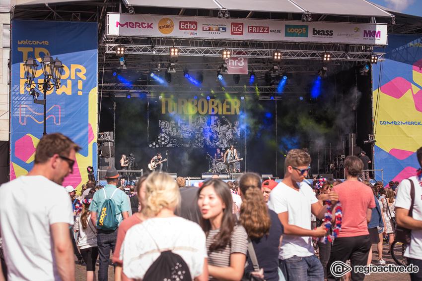 Turbobier (live beim Schlossgrabenfest 2017)