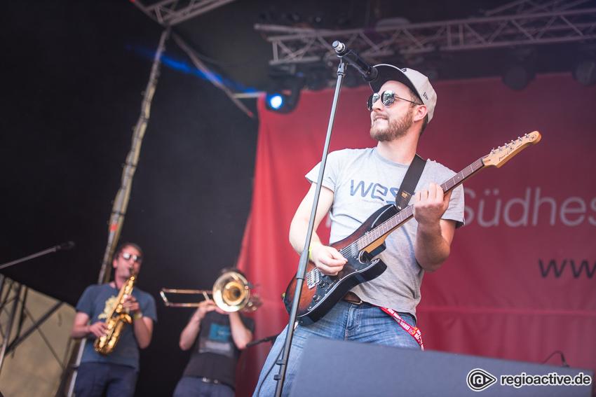 Mighty Vibez (live beim Schlossgrabenfest 2017)