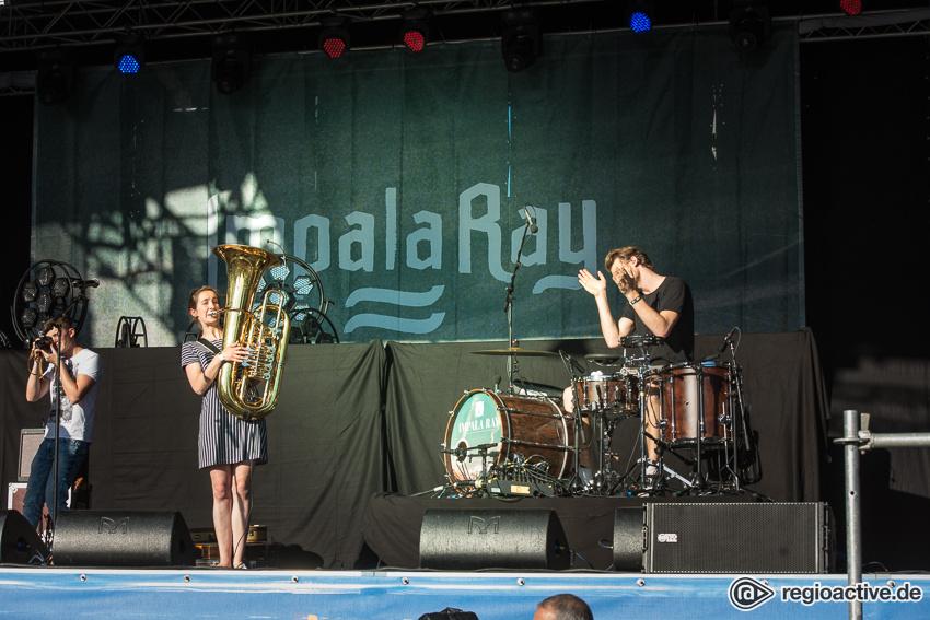 Impala Ray (live beim Schlossgrabenfest 2017)