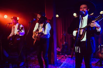 Bluegrass aus Kanada - Live-Fotos von The Dead South in der Musikzentrale Nürnberg