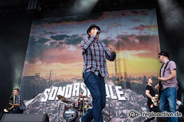 Gute Stimmung - Lehrnfähig: Fotos von Sondaschule live bei Rock am Ring 2017