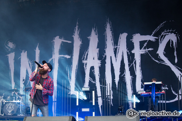 Harte Töne - Brachial: Fotos von In Flames live bei Rock am Ring 2017