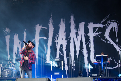 Harte Töne - Brachial: Fotos von In Flames live bei Rock am Ring 2017